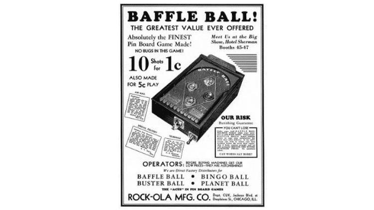 Baffle Pinball - Reprodução - Reprodução