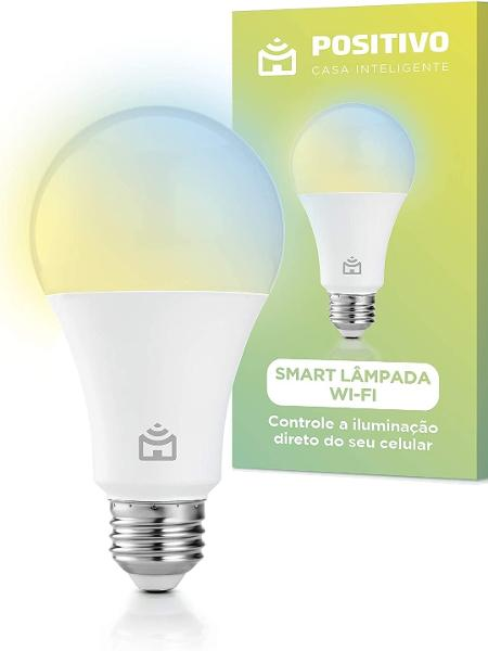 Smart Lâmpada Wi-Fi Positivo - Divulgação - Divulgação