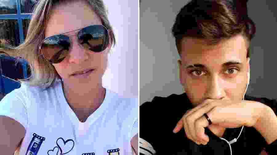 Elzilene Tavares Viana e o filho Luiz Felipe Viana Antônio da Silva foram assassinados em Aripuanã (MT) - Arquivo Pessoal/Montagem