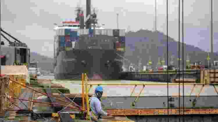 Peça essencial da economia, o Canal do Panamá começa a dar sinais de recuperação - GETTY IMAGES - GETTY IMAGES