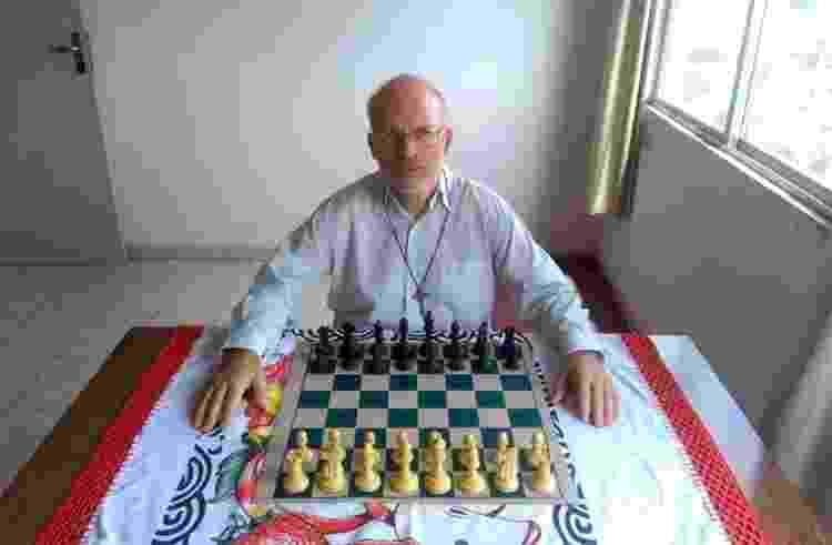 Mequinho hoje se dedica principalmente à religião: xadrez virou passatempo - Arquivo pessoal - Arquivo pessoal