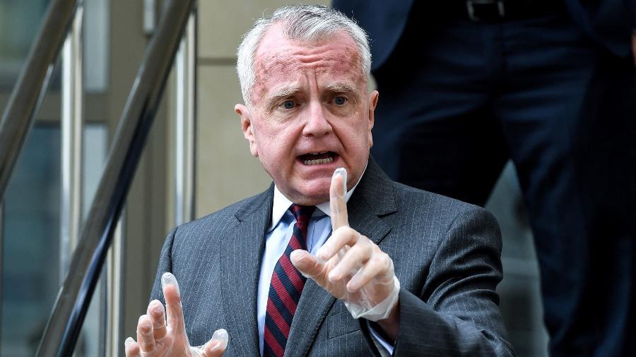 "15.jun.2020 - Sullivan voltará aos Estados Unidos para ""consultas"" em momento de grande tensão entre os dois países - Kirill Kudryavtsev/AFP"