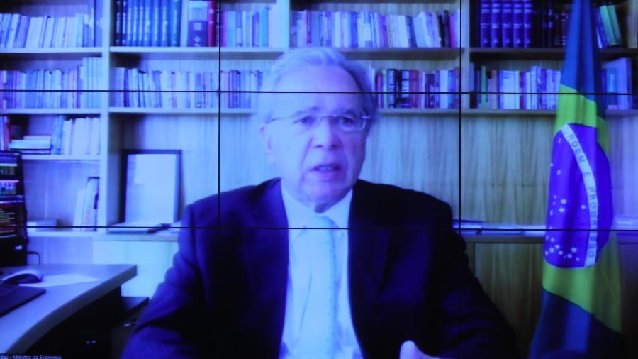 Reunião com a presença do Ministro da Economia, Paulo Guedes - Cleia Viana/Câmara dos Deputados