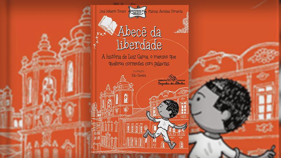 Livro voltado para público infantil tem cenas de violência física e crianças escravizadas brincando de pular correntes - Reprodução