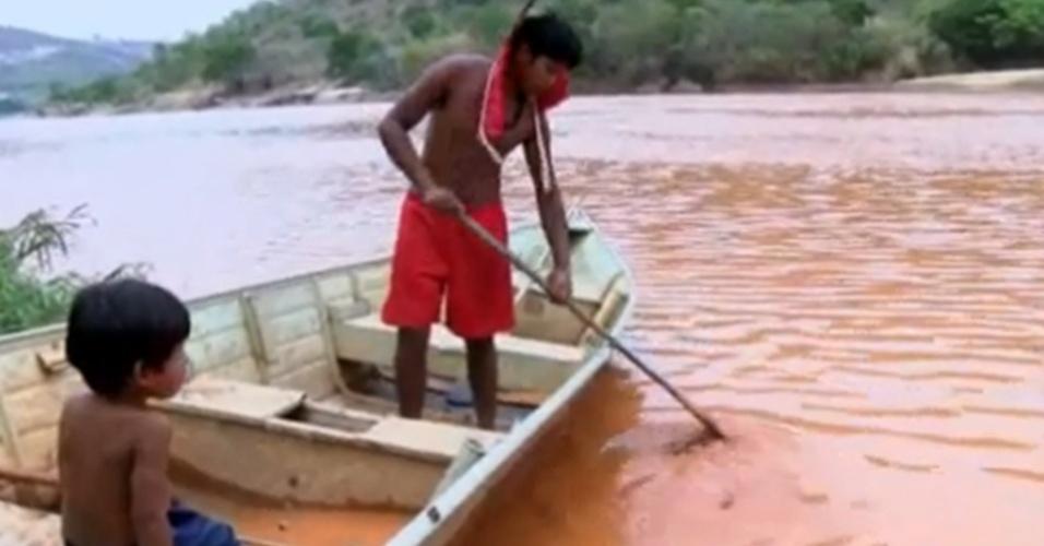 Tragédia em MG: 'o rio morreu para nós, não podemos pescar'