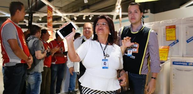 A presidente do Conselho de Administração do Magazine Luiza, Luiza Trajano