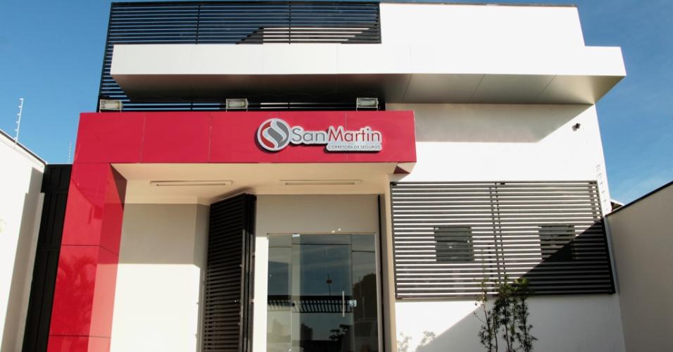 Franquia San Martin. Rede atua na área de seguros