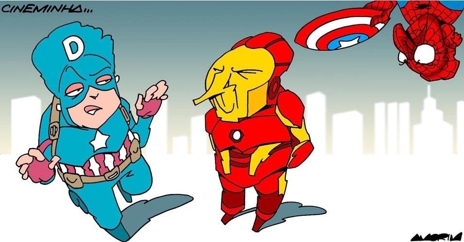 1º.mai.2016 - Quem vai ganhar essa batalha?