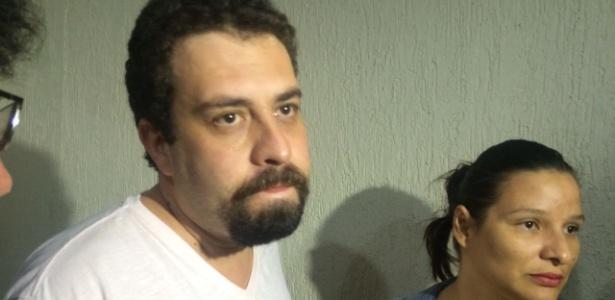 17.jan.2017 - Boulos foi detido e encaminhado para a 49ª DP - Janaina Garcia/UOL