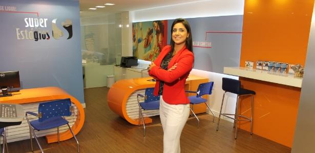 Poliana Ferraz fundou a Super Estágios em 2009 e faturou R$ 30 milhões em 2016 - Divulgação