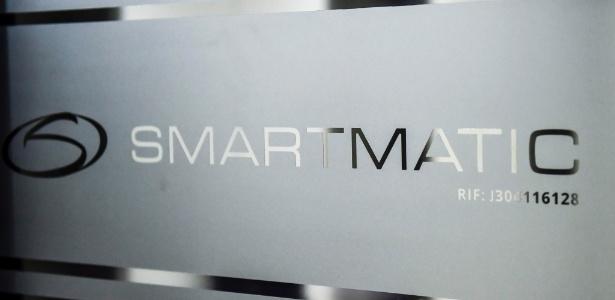 2.ago.2017 - Logo da Smartmatic, empresa que fornece tecnologia de votação para a Venezuela