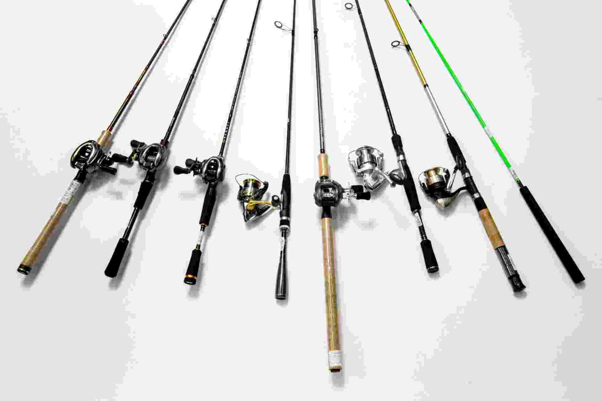 Varas de pescar da loja Sugoi Big Fish - Ricardo Matsukawa/UOL