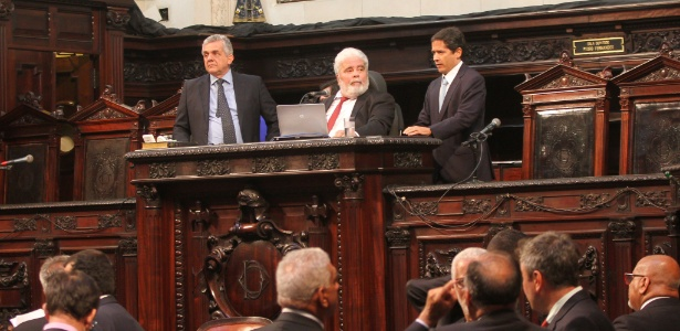 21.nov.2017 - Sessão da Alerj (Assembleia Legislativa do Rio de Janeiro) desta terça ocorreu sem posicionamento oficial sobre a decisão do TRF que mandou deputados de volta à prisão - Divulgação/Alerj