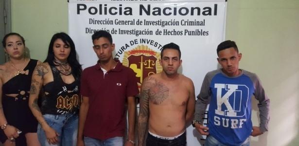 Brasileiros detidos pelas autoridades do Paraguai em Pedro Juan Caballero