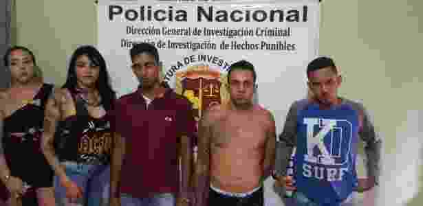 Brasileiros detidos pelas autoridades do Paraguai em Pedro Juan Caballero - Divulgação/ Ministério do Interior do Paraguai