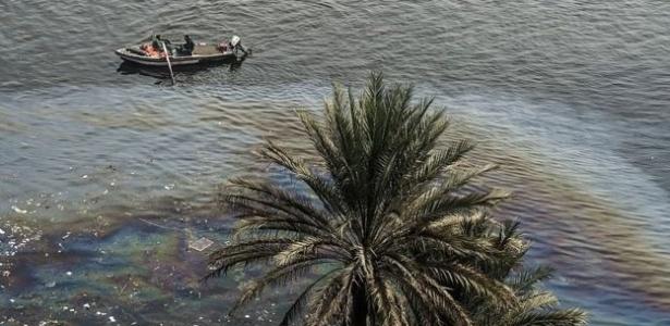 O Nilo atende 97% da demanda por água no Egito