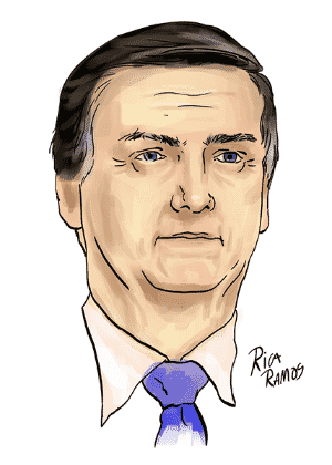 Ilustração Bolsonaro -  -