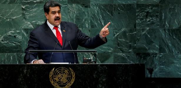 26.set.2018 - Maduro discursa na Assembleia Geral da ONU - Eduardo Munoz/Reuters