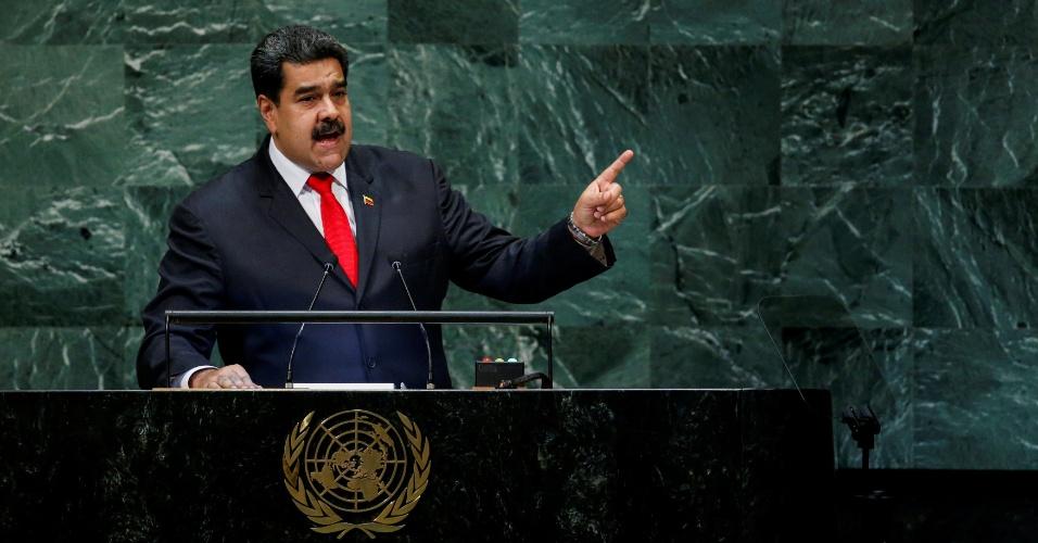 26.set.2018 - Maduro discursa na Assembleia Geral da ONU
