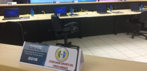 O centro foi instalado num dos prédios da Polícia Federal em Brasília