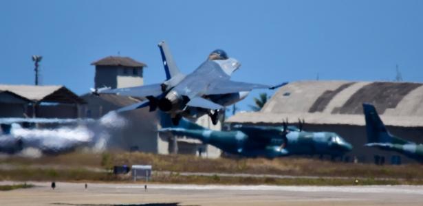 Exercício militar | Força Aérea treina com os EUA em Natal para missões da ONU