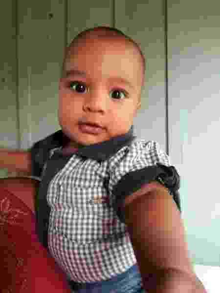O bebê João Pedro Gonzaga precisava de um transplante de coração - Arquivo pessoal - Arquivo pessoal