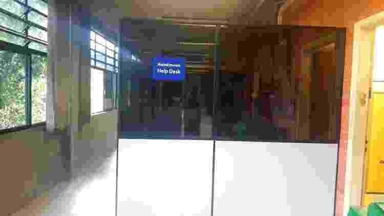 Sala no setor de informática em que Filipe Leme deveria permanecer - Wanderley Preite Sobrinho/UOL - Wanderley Preite Sobrinho/UOL