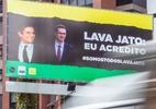 Grupos arrecadam R$ 30 mil para outdoors de apoio à Lava Jato em Curitiba  (Foto: Theo Marques/UOL)