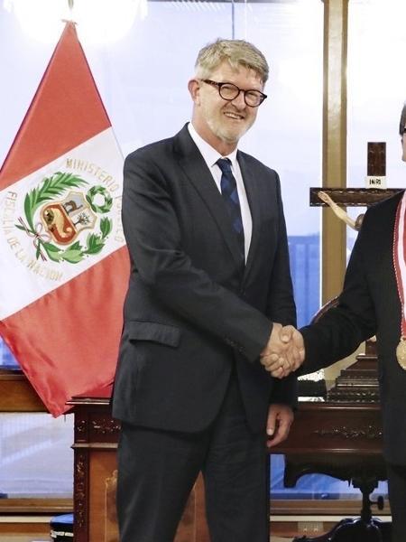 O ex-procurador suíço Stefan Lenz - Divulgação/ Ministério Público do Peru