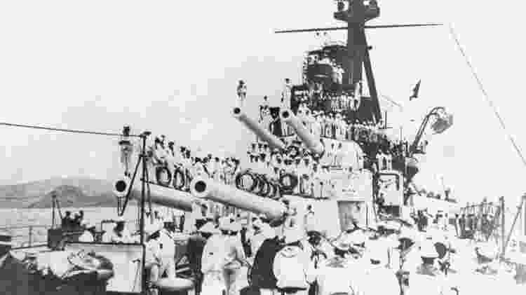Os marinheiros assumiram o comando de quatro navios - Arquivo Geral da Cidade do Rio de Janeiro