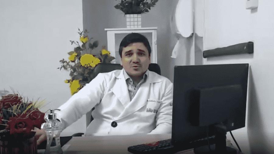José Gilberto Luna Sobrinho xingou técnica de enfermagem em hospital e causa revolta na web - Reprodução/Instagram