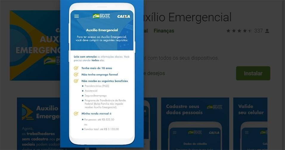 Auxílio emergencial do coronavírus: governo lança aplicativo e ...