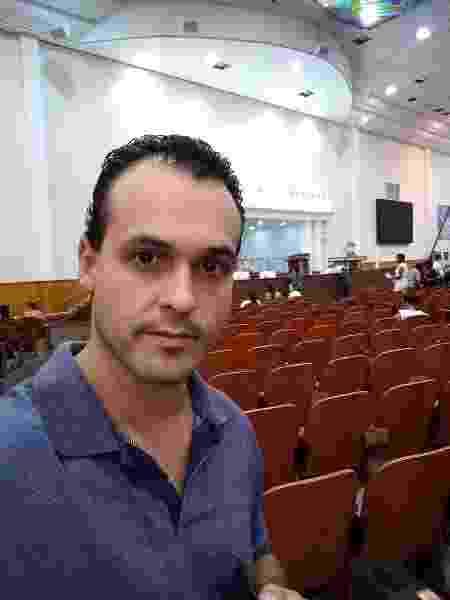 Alex Fernandes perdeu o emprego no início da pandemia e tenta conseguir o auxílio emergencial de R$ 600 há três meses - Arquivo pessoal