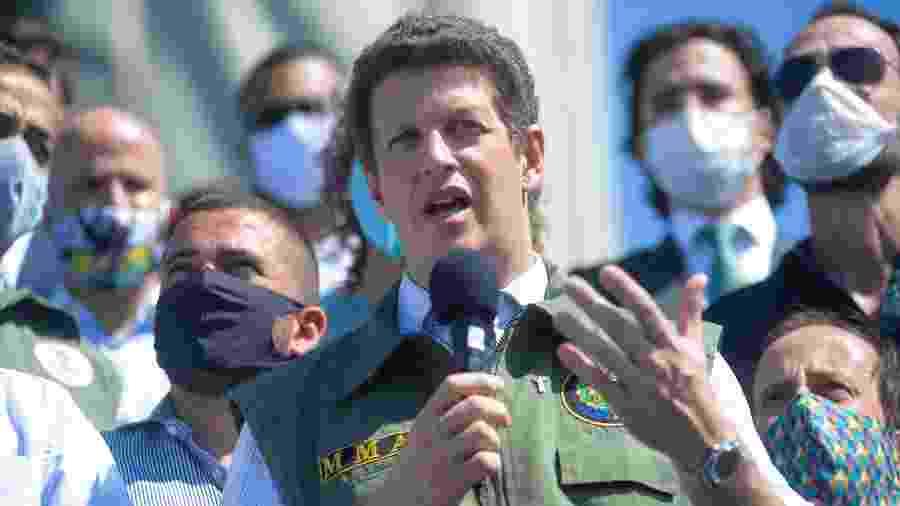 O ministro do Meio Ambiente, Ricardo Salles - ERBS JR./Framephoto/Estadão Conteúdo