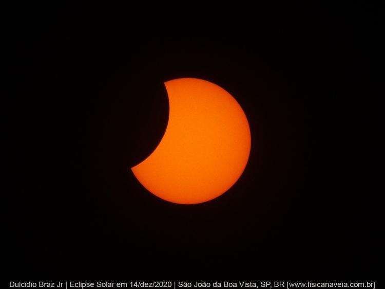 Eclipse Solar Parcial  - (Dulcidio Braz Jr / Física na veia) - (Dulcidio Braz Jr / Física na veia)