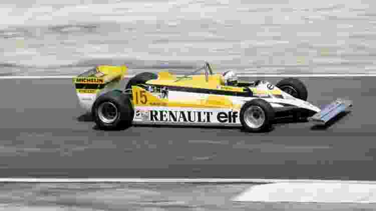 Renault F1 AP 1981 - Divulgação  - Divulgação
