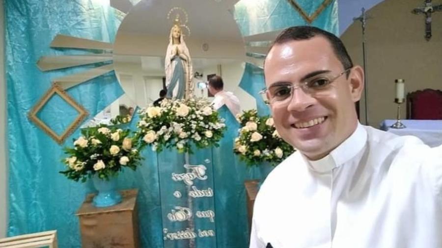 O padre Fernando Lima tinha 38 anos - Reprodução/Facebook