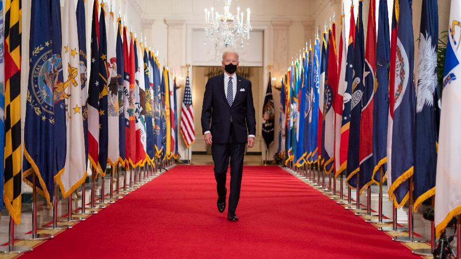 Joe Biden na Casa Branca - Adam Schultz/White House