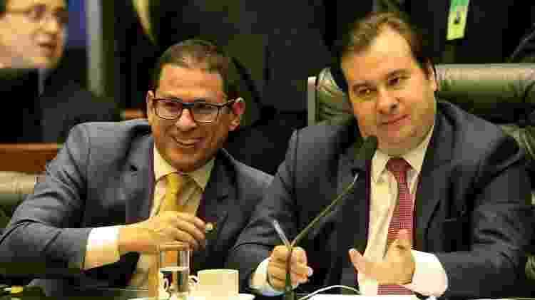 Rodrigo Maia e Marcelo Ramos - Reprodução/Facebook - Reprodução/Facebook