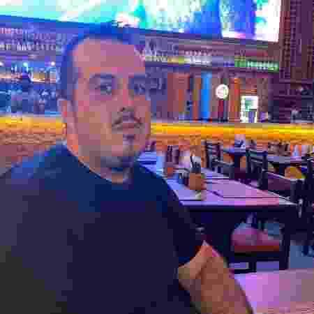Marcelo Araújo, gerente do Baião Cozinha Nordestina - Vinícius de Oliveira/UOL - Vinícius de Oliveira/UOL