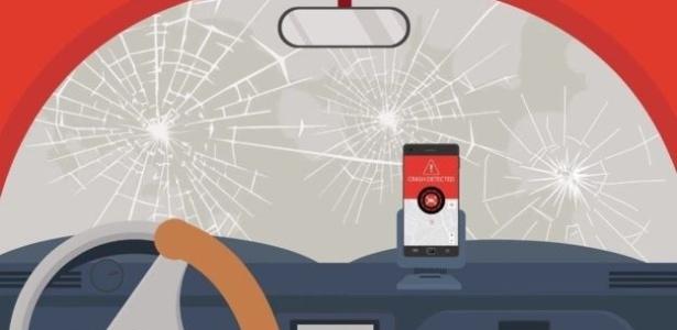 O CrashDetech consegue detectar se você sofreu um acidente e alerta os serviços de emergência