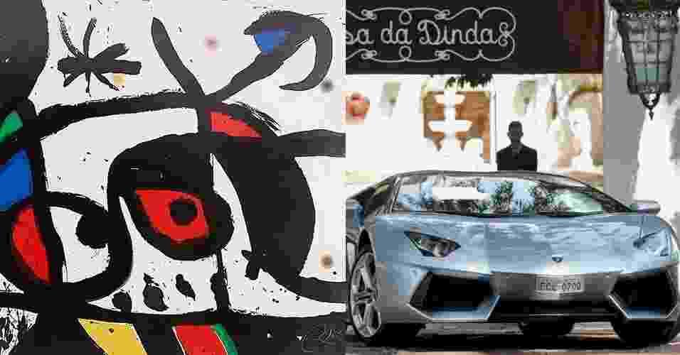 7.dez.2016 - Montagem para álbum sobre artigos de luxo apreendidos na Lava Jato - Pedro Ladeira/Folhapress/Reprodução