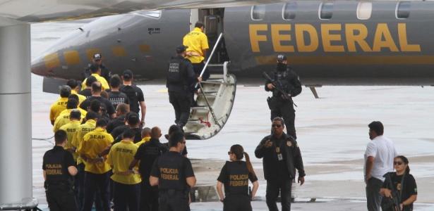 Presos que teriam ordenado matança em presídios de Manaus no começo do mês foram transferidos para presídios federais no RN e em MS na última quarta-feira (11)
