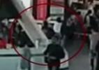 Câmera de segurança do aeroporto