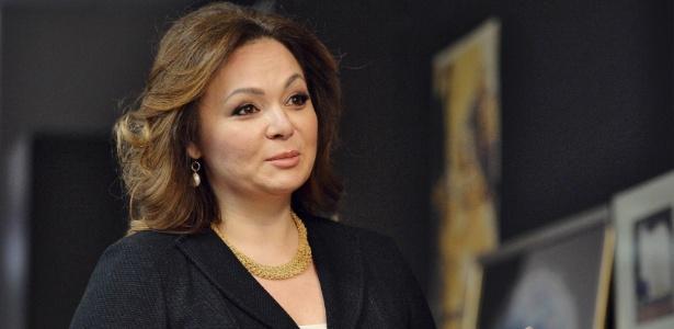 08.nov.2016 - A advogada russa Natalia Veselnitskaya concede entrevista a jornalistas em Moscou