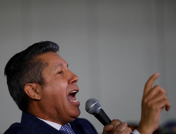 O candidato de oposição, Henri Falcon - Marco Bello/Reuters