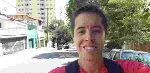 Selfie do Galaxy S9+ na luz do dia: imagem fica bem estourada - Gabriel Francisco Ribeiro/UOL