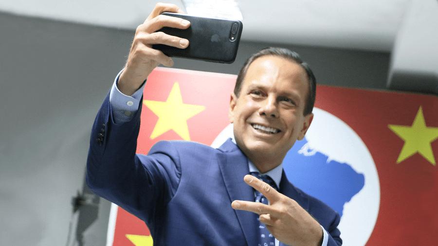 Governador de São Paulo, João Doria - Arte/UOL