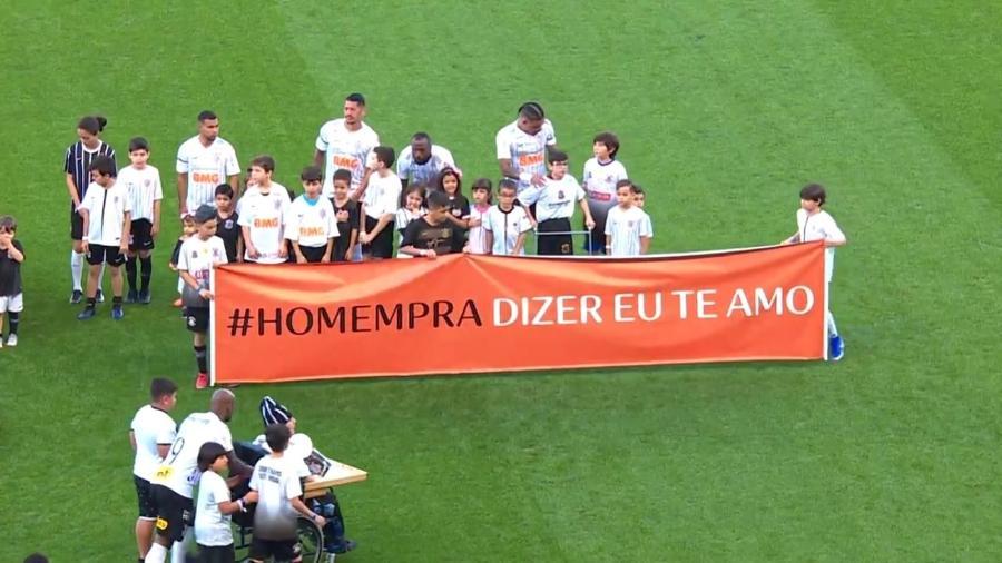 Marca usou partidas do Campeonato Brasileiro de futebol para falar sobre masculinidade - Divulgação