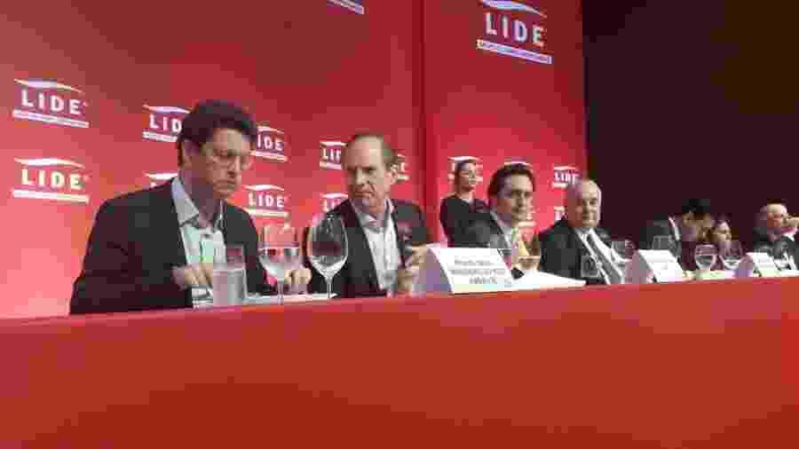 Ministro do Meio Ambiente, Ricardo Salles, almoça com líderes empresariais em São Paulo - Wanderley Sobrinho/UOL